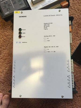 Програмато sienens staefa control sistem NRUF/A і Siemens Landis&Staef