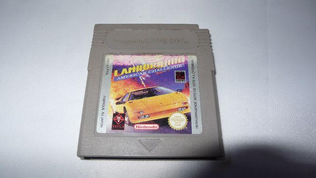 Gra do Nintendo Gameboy Lamborghini American Challenge