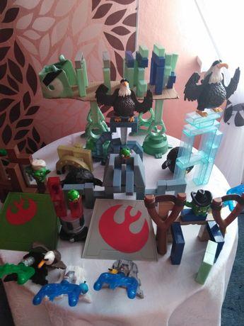 Duży zestaw Angry Birds, Star Wars.