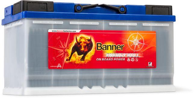 Akumulator Banner ENERGYBULL 100 Ah