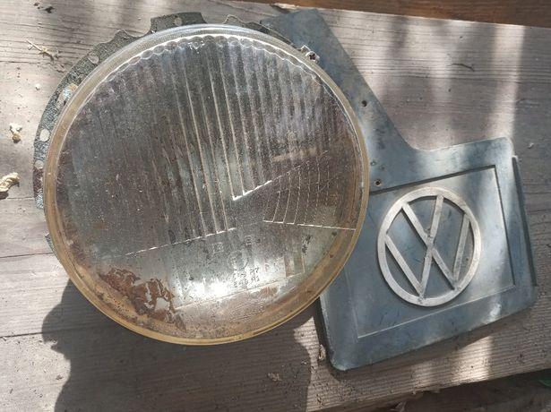 Okazja, Lampa przednia reflektor szkło do Golf I, Caddy I