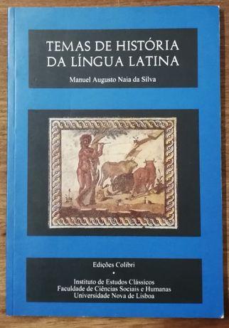 temas de história da língua latina, manuel augusto naia da silva