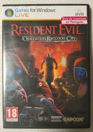 Resident Evil -Oporation Raccoon City- Jogo PC DVD