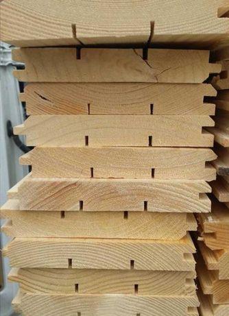 Podbitka półbal boazeria listewki deski elewacyjne tarasowe