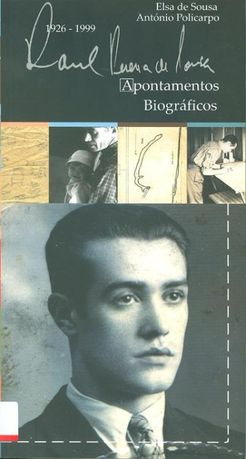 Apontamentos Biográficos de Elsa de Sousa e António Policarpo