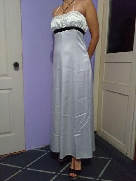 Платье вечернее, белое, р.46, б/у