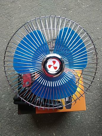 Автомобильный вентилятор одинарный и двойной 12в и 24в