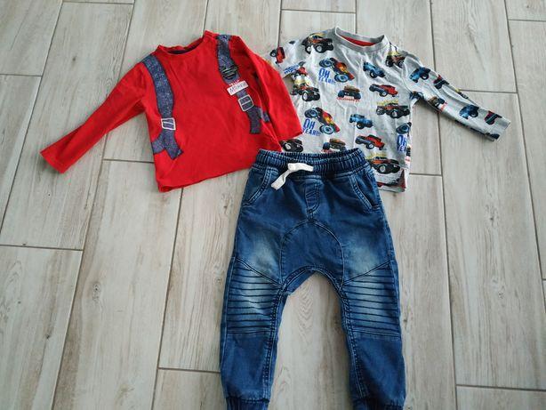 Zestaw spodnie+ bluzki