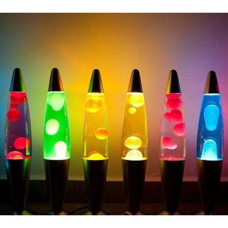 Лава лампа (Lava Lamp) 37 см . Ночник, парафиновая лампа