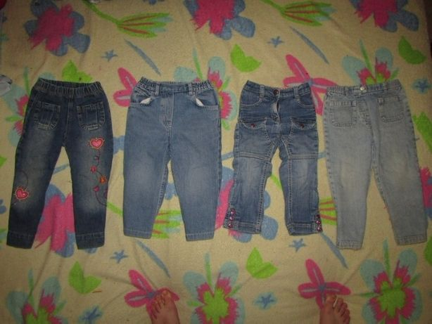 Стильные,фирменные джинсы,джегинсы на девочку 2-3 года,86-92-98 размер