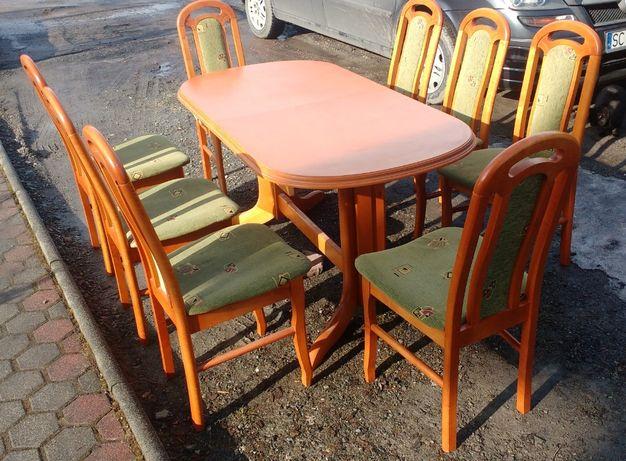 stół i 8 krzeseł ładny