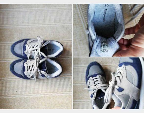 Buty skórzane Mango chłopięce r. 30