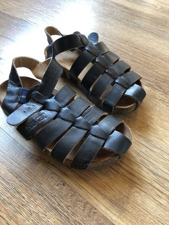 Skórzane buty sandały Haflinger 27
