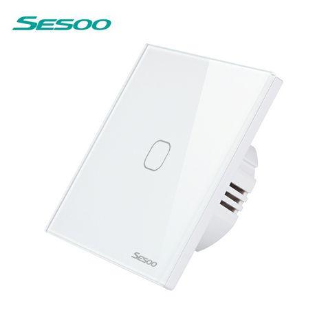 Сенсорний вимикач вмикач кнопка димер Sesoo SD2-01w -Livolo VL-C701-11