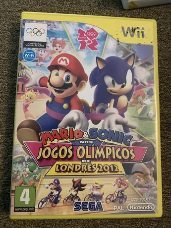 Mario e Sonic Jogos Olímpicos Londres 2012