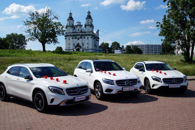 Auto do ślubu Mercedes GLC, 2x Mercedes GLA
