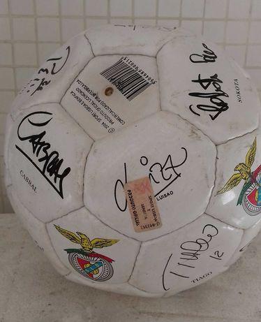 Bola do Benfica assinada ano 99