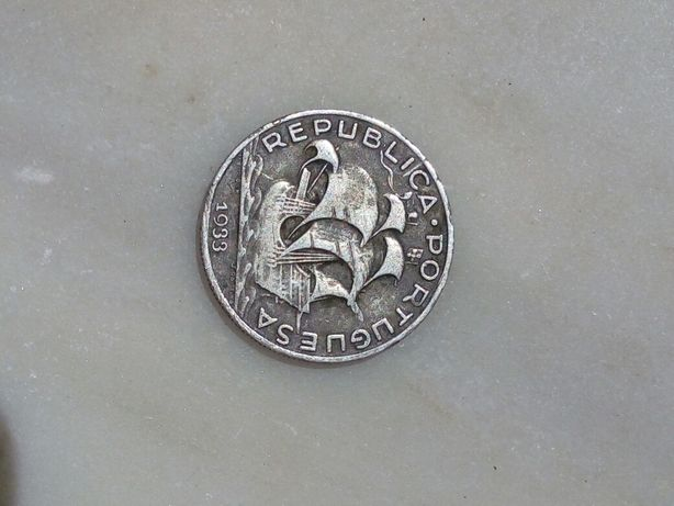 Moeda 5 escudos 1933