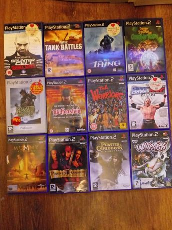 Gry PlayStation 2 PS 2