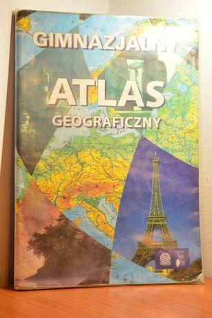 Atlas geograficzny - używany