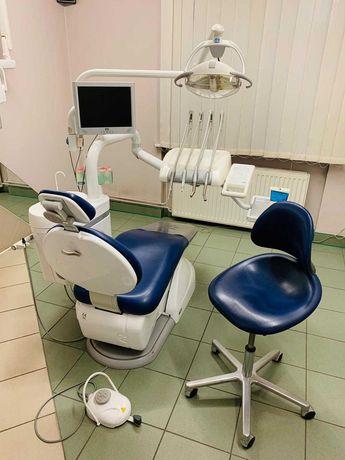 Wyposażony gabinet stomatologiczny centrum Gliwic 0% prowizji