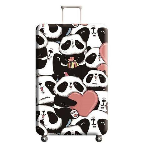 чехол на маленький чемодан панды