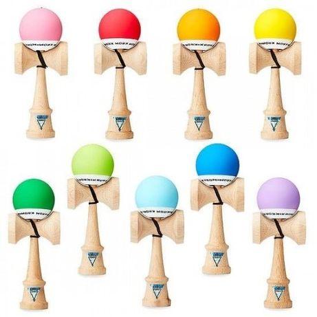 Kendama Krom Pop mix kolorów oryginał japońska drewniana gra