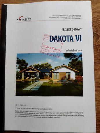 """Projekt domu """"Dakota VI"""" lustro Dobre Domy"""