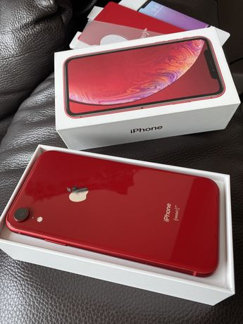 iPhone XR red 2018