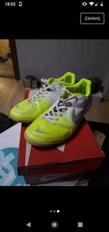 Buty Nike limonkowe