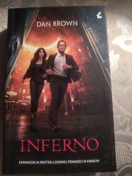Inferno, Dan Brown, nowa