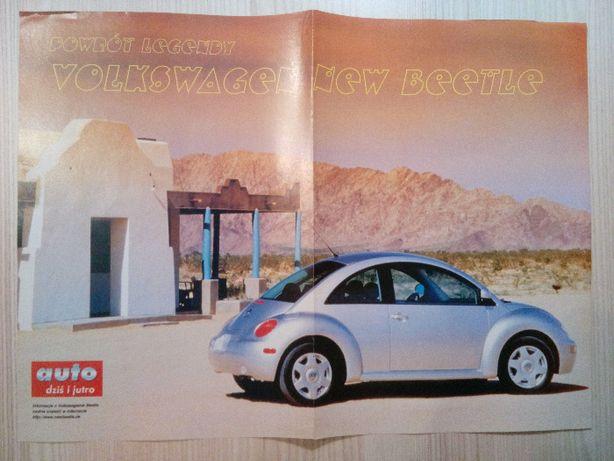 Plakat Poster VW Beetle/Elia Renault Sport Spider RS 30cm x 41cm Auto