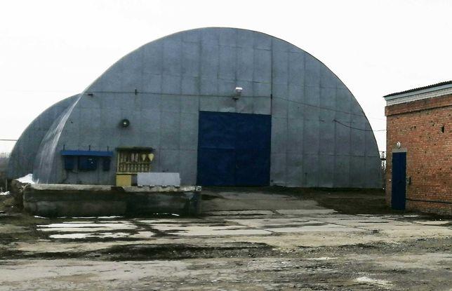 Сдам ангар пл. 900 м2 под склад с еврорампой в Золочеве