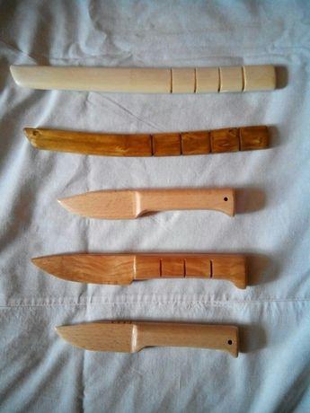 Ножи деревянные (тренировочно-сувенирные)