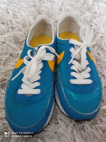 Buty adidasy żółto niebieskie