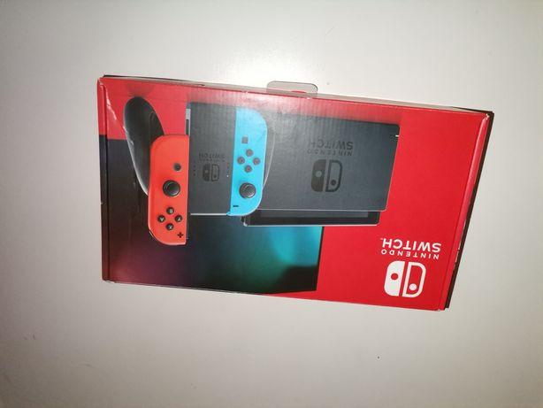 Nintendo switch v2 com talão/garantia