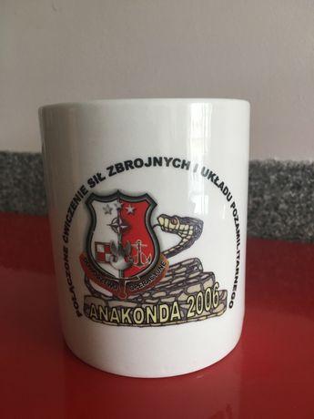 Kubek Kolekcjonerki cwiczen pk. ANAKONDA