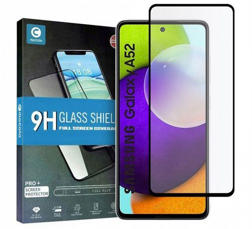 Szkło Hartowane Mocolo Tg+Full Glue Samsung A52 Lte/5G Black