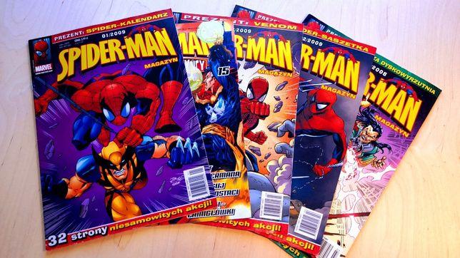 Spider-Man komiksy Marvel w bardzo dobrym stanie
