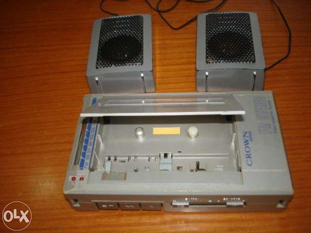 Leitor/radio portatil de cassetes antigo