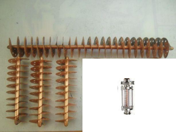 Спираль Нуреева домашнего дистиллята ректификационная колонна царга
