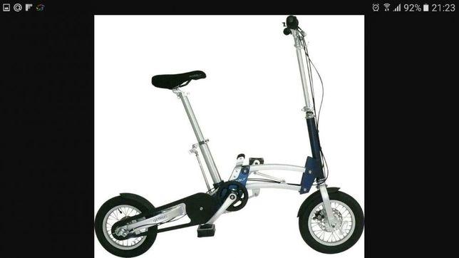 Розкладной компактный велосипед Mobyk genius продам или обменяю