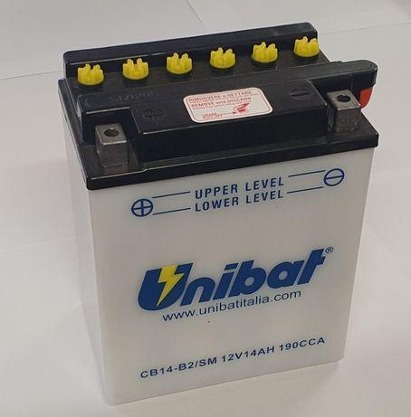 Akumulator Unibat CB14-B2 YB14-B2 14Ah 190A 12V NOWY
