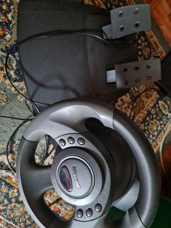 Volante+Pedais Microsoft-PC