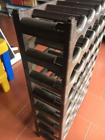 Garrafeira - organizador de vinhos 6 x 8 unids