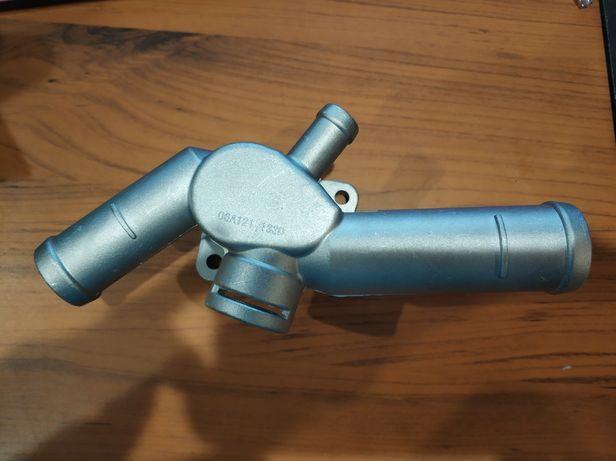 Фланец системы охлаждения 06A121133D 1,6 2,0 vw skoda seat алюминиевый