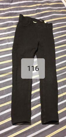 Spodnie dla dziewczynki rozmiar 116