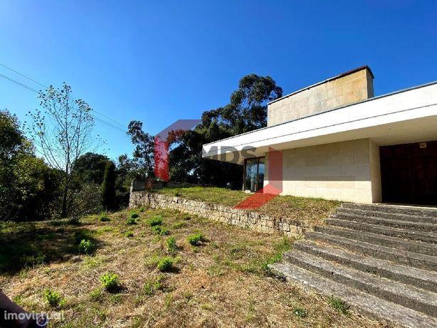 Moradia de arquitetura moderna