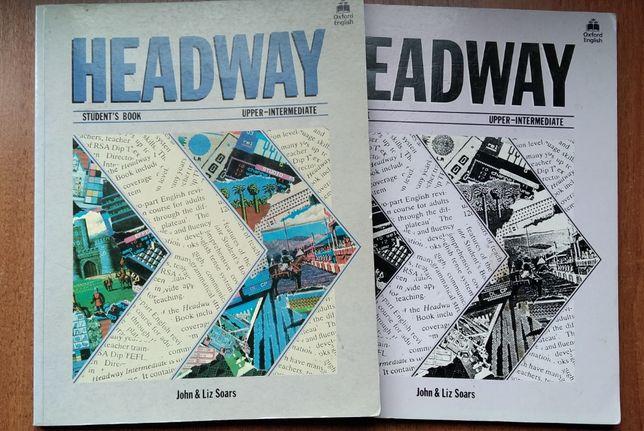 Учебник и рабочая тетрадь по английскому языку HEADWAY.