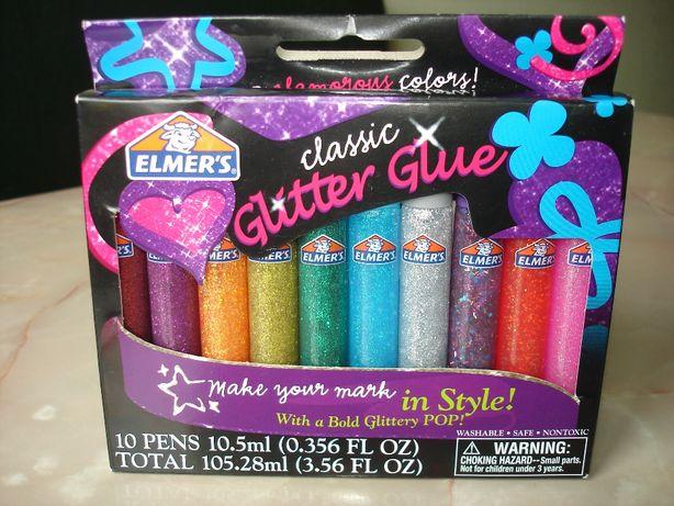 Набор клея с блестками Elmers